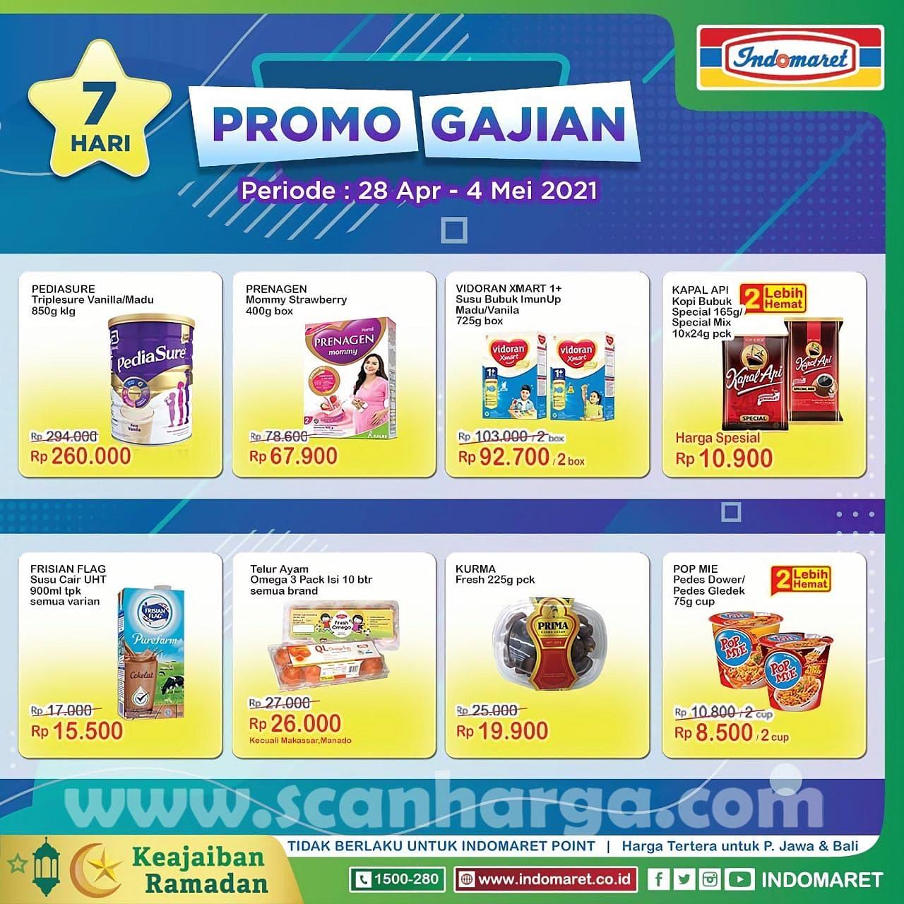 INDOMARET Promo GAJIAN Periode 28 April - 4 Mei 2021 1