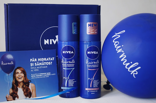 nivea hairmilk leavein conditioner