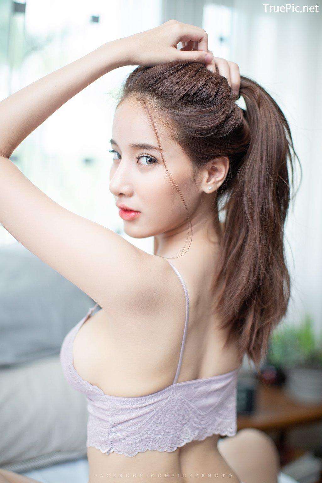 Image-Thailand-Hot-Model-Pichana-Yoosuk-Sexy-Purple-Bra-Shiny-Short-Pants-TruePic.net- Picture-10