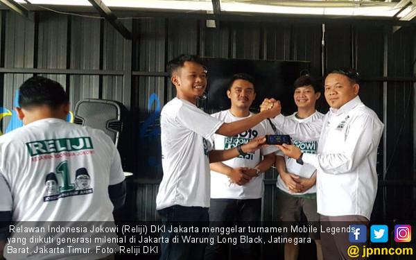 Relawan Indonesia Jokowi DKI Gelar Turnamen Mobile Legends