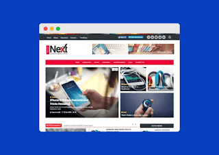 Tech Next Blogger Template Download For Free |