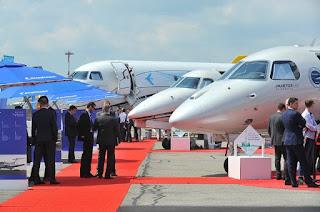 Jato da Embraer faz primeira travessia transatlântica movido a biocombustível