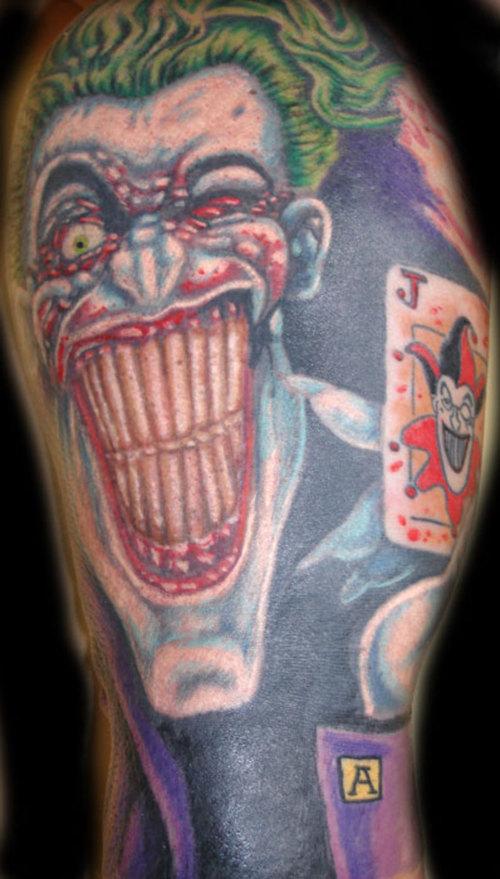 Joker Tattoo | Fresh Tattoo Ideas