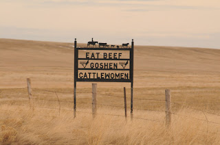 Goshen Cattlewomen sign