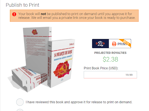 Draft2Digital publică și cărți tipărite