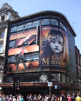 Les Miserables at the Queen's Theatre by Lorna Holland