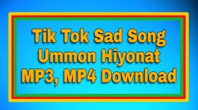 ummon hiyonat mp3 download muzmo