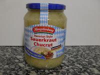 Chucrut, sauerkraut.