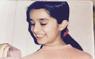Childhood Image of bollywood actress