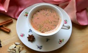 How to Make Delicious Hot Kashmiri Pink Tea at Home