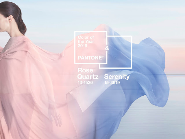 Rose Quartz und Serenity - Pantone Color of the Year 2016