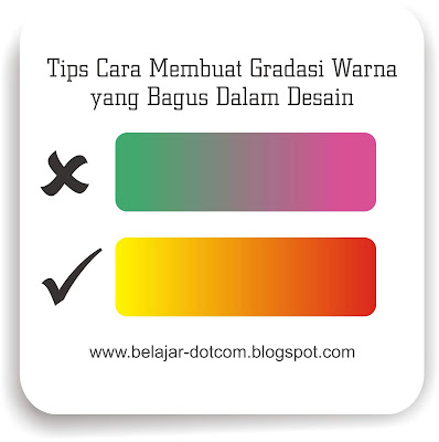Tips Cara Membuat Gradasi Warna yang Bagus Dalam Desain