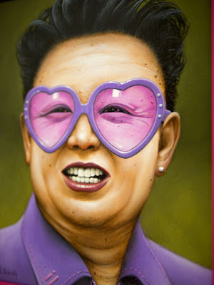 frames art - nort korea dictator - cute art