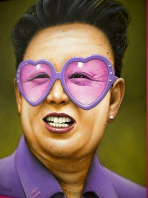 frames art - nort korea dictator - cute art