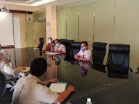 Tim PRL KKP Kelas I Denpasar Dampingi Penilaian Penerapan Protokol Kesehatan Penyedia Jasa Katering Bandara