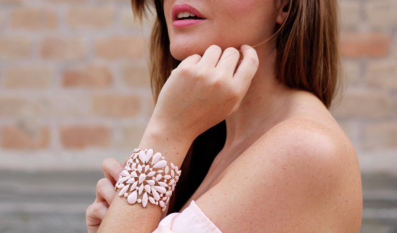 bracciale rosa bijou brigitte