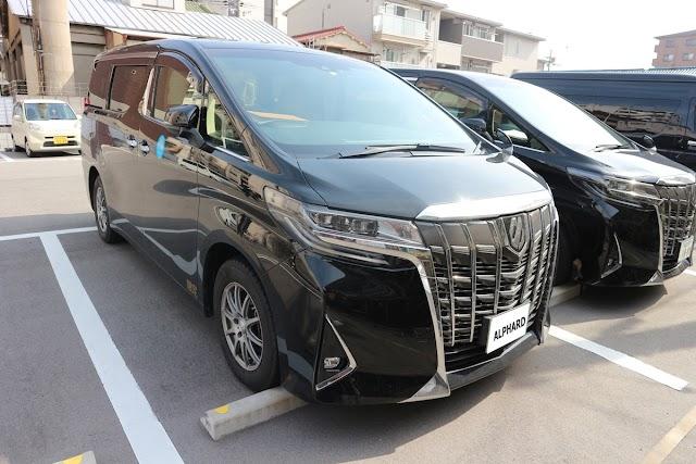 Osaka station cheap rental car