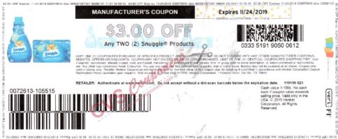 snuggles coupons