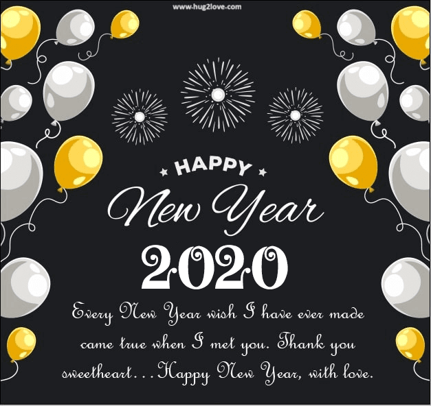 Happy New Year 2020 Quotes - Wishes, Greeting, Images for ...