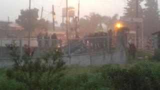 Accidente mortal en la línea San Martín