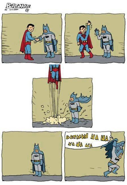Batman vs Superman (Humor)