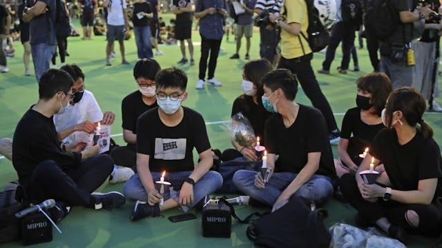 Prominent pro-democracy Hongkong activist Joshua Wong , Sentenced to Jail