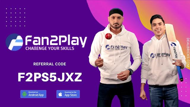 Fan2Play Referral Code: f2ps5jxz