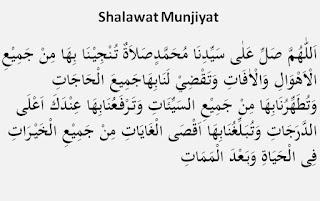 Fadilah Sholawat Munjiat