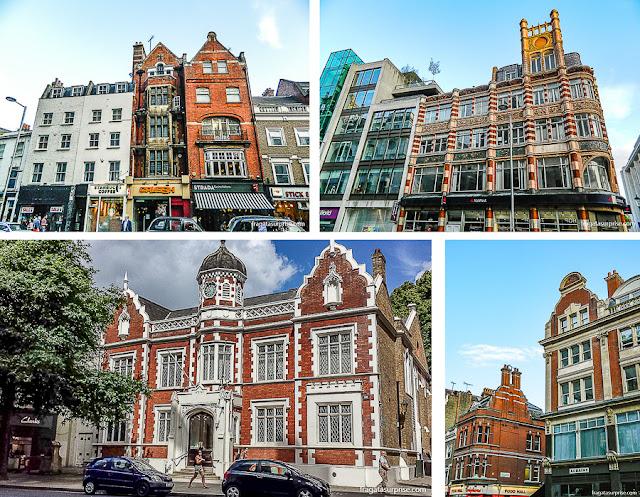Arquitetura do bairro de Kensington, Londres