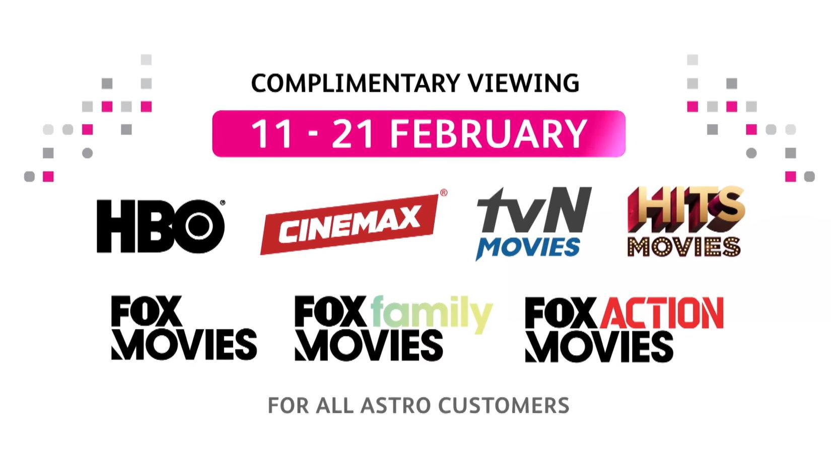 Astro Belanja Siaran Movie Secara Percuma Bermula 11 Hingga 21 Februari Ini