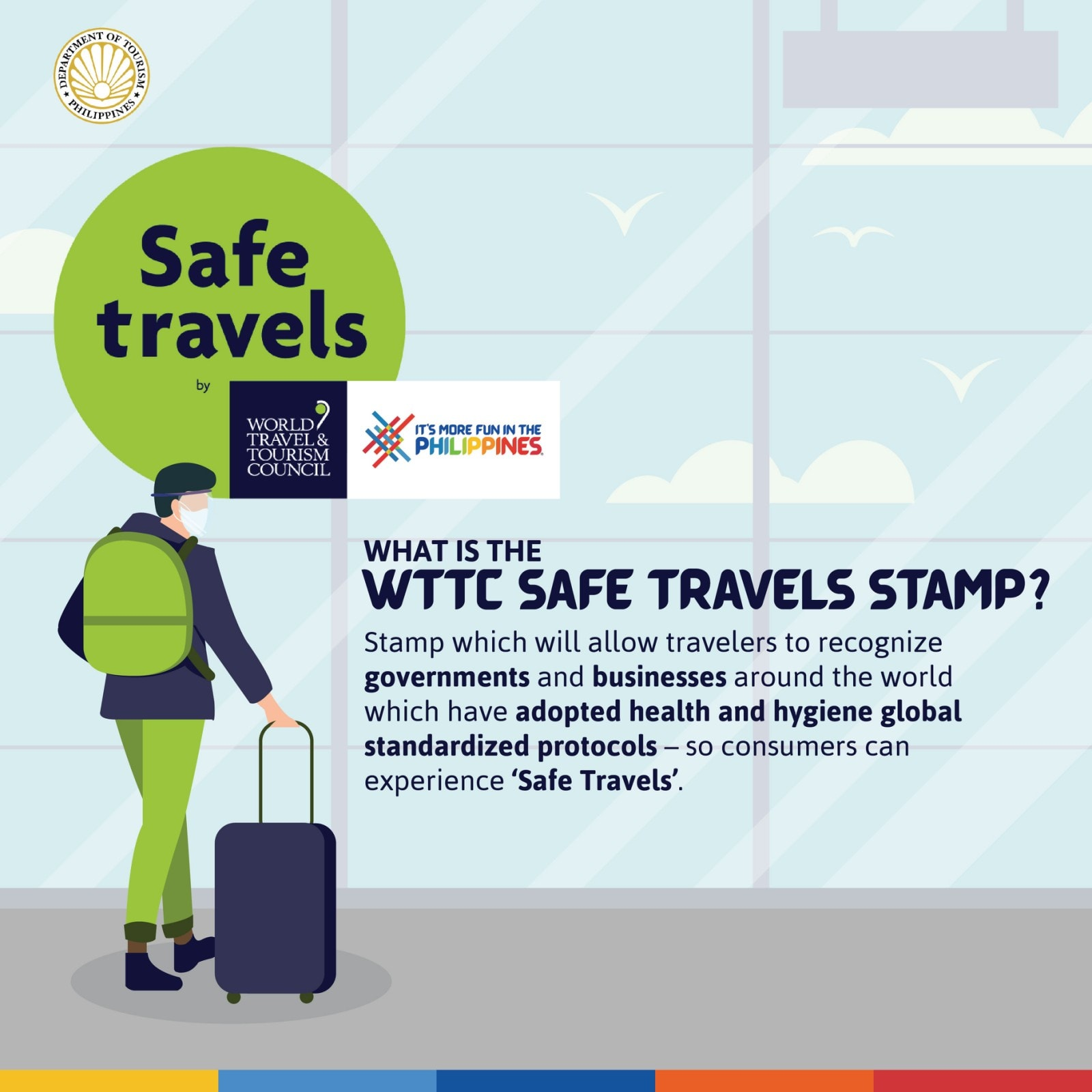 What is the World Travel and Tourism Council (WTTC) Safe Travels Stamp?