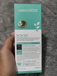 EssenHerb Tea Tree Toner