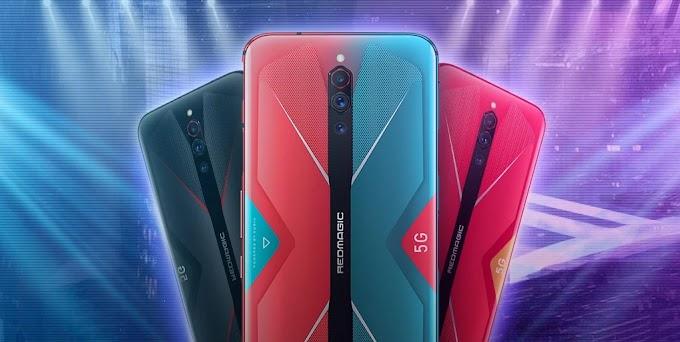 Sorteio do Smartphone Gamer Nubia Red Magic 5G