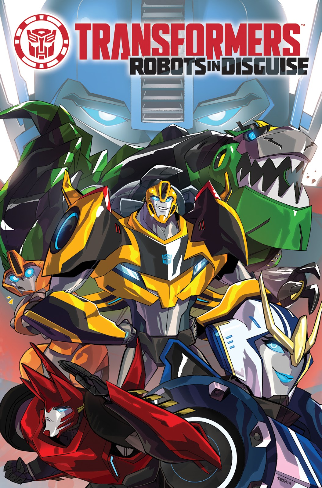 Transformers: Robots in Disguise Temporada 1 1080p Español Latino