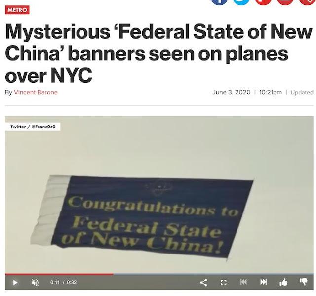 Tỷ phú và ngôi sao bóng đá TQ tuyên bố thành lập 'Nhà nước Liên bang Trung Quốc Mới'