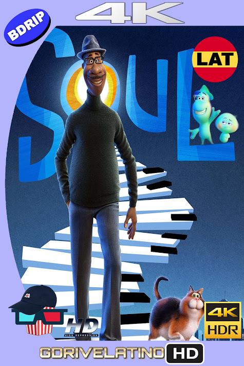 Soul (2020) BDRip 4K HDR Latino-Ingles MKV