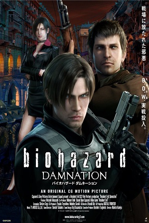 Resident Evil: Damnation (2012) 300MB Full Hindi Dual Audio Movie Download 480p Bluray