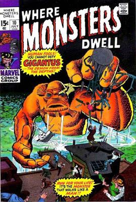 Where Monsters Dwell #10, Gigantus