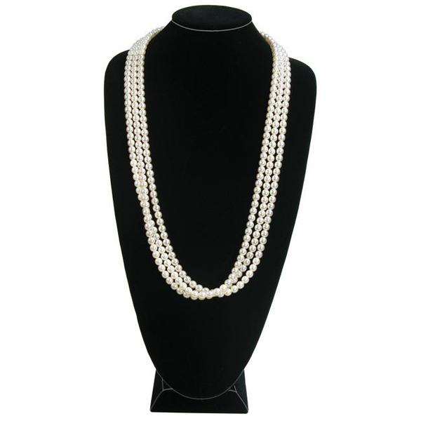 Shop Wholesale Black Velvet Necklace Display Bust at Nile Corp