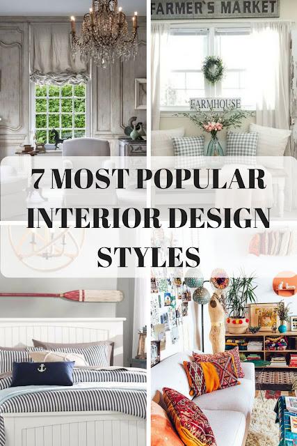 7 Most popular interior design styles