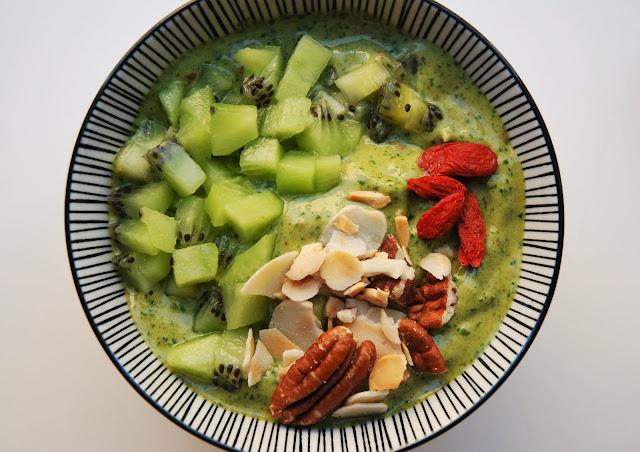 Smoothie épinards - banane - kiwi