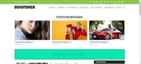 BoomBox Noticias Template Blogger