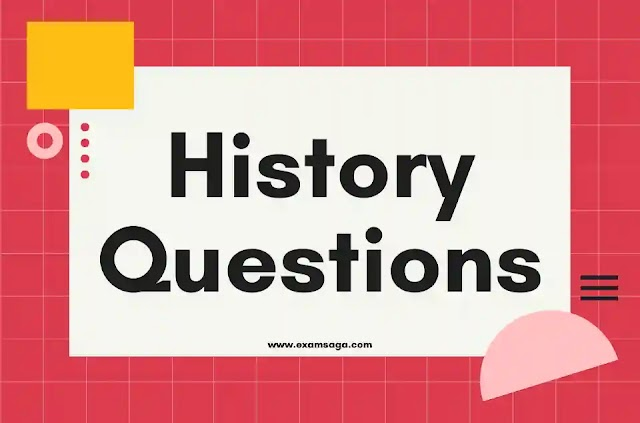 Indian History Gk Important Questions & Answer pdf for IAS, State PSC, SSC and Other Competitive Exams