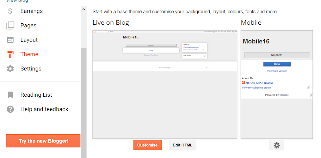 Theme Customization