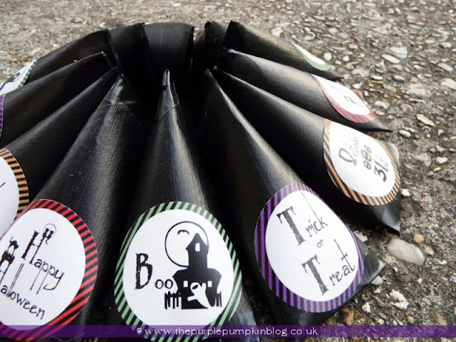Trick or Treat Candy Tubes   The Purple Pumpkin Blog