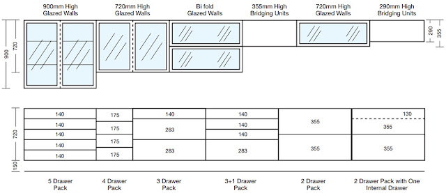 bricksNmortar  Modular Kitchen cabinetry arrangement (Typical)