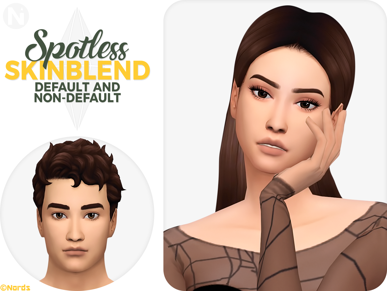 Spotless A Sims 4 Cc Skinblend