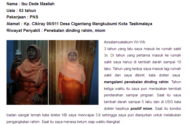 Cara Menghilangkan Polip Serviks Secara Alami Tanpa Operasi ~ Testimoni QnC Jelly Gamat
