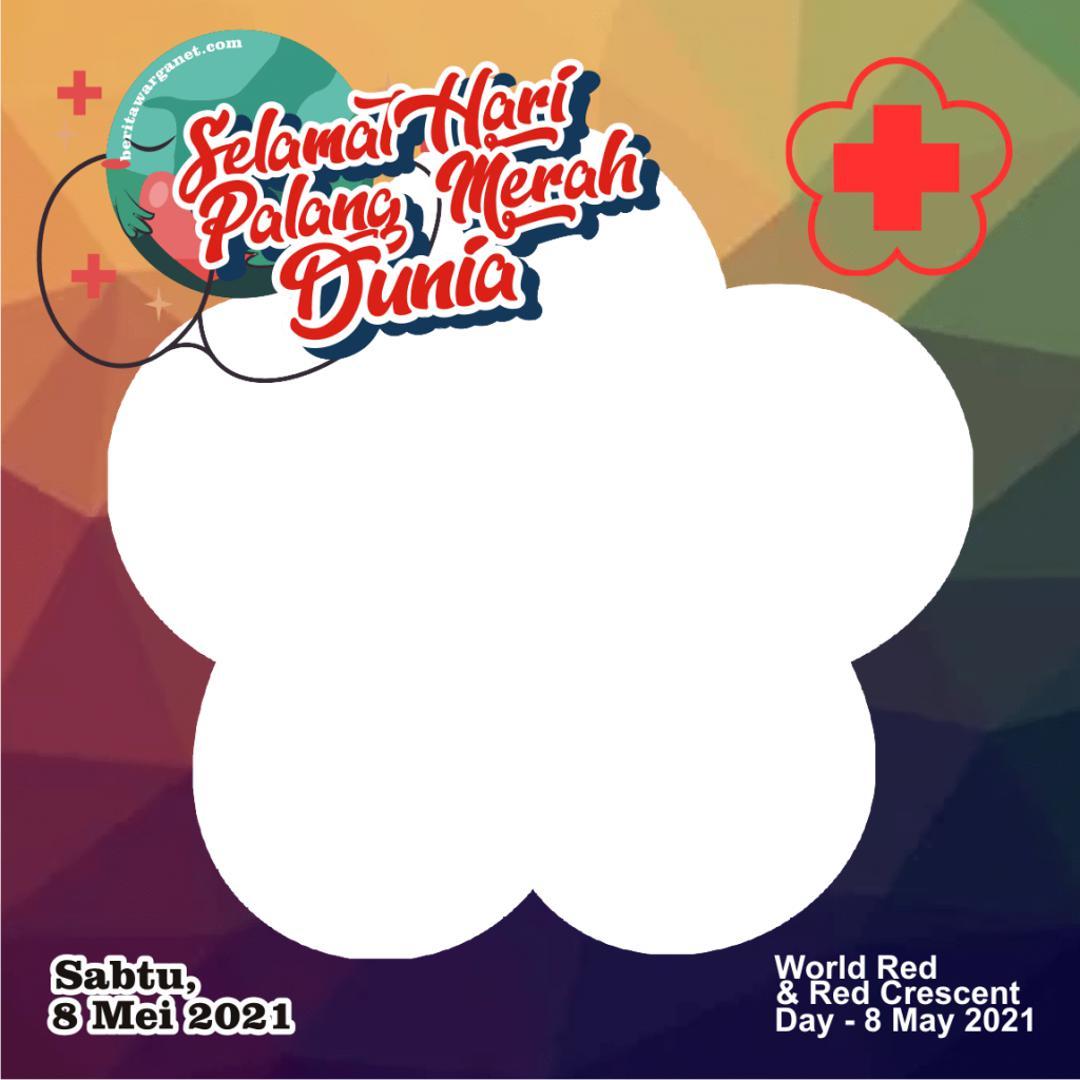Frame Twibbon HUT Palang Merah Internasional 2021