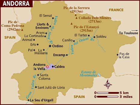 Andorra facts and information